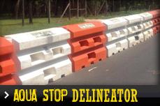 aqua stop delineator